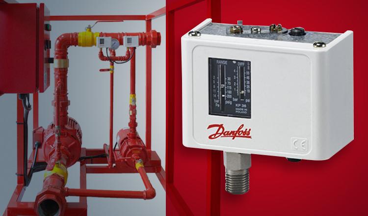 pressostato danfoss kpi35 hidrantes