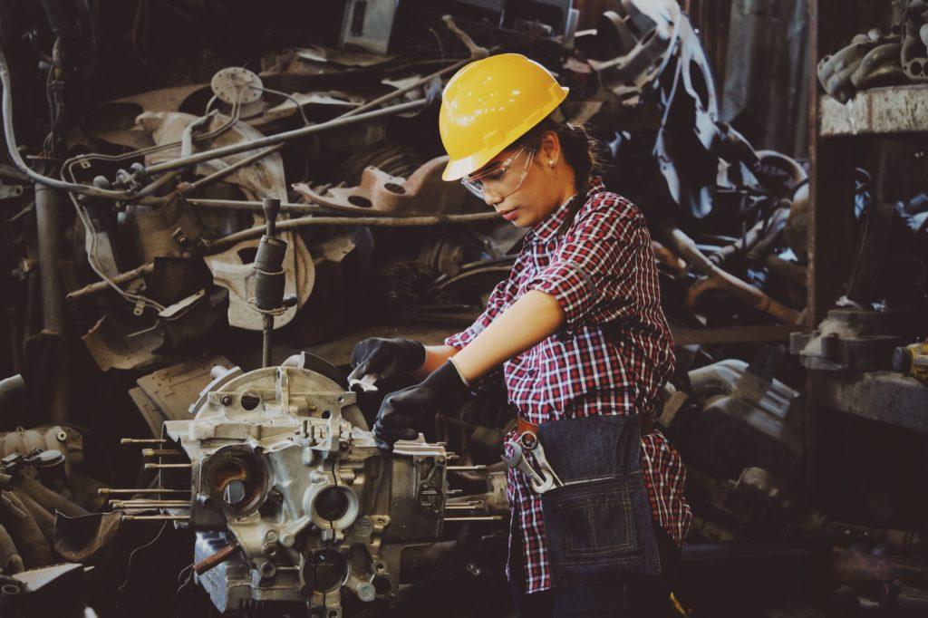 Setor de compras e manutenção industrial
